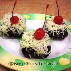 Steamed-chocolate-cake (recipe in Indonesian Languange)