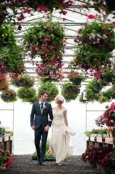 Greenhouse Garden Wedding