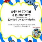 "This is the Spanish version of   A Tender Teacher for Special Needs  book unit for ""Don't Eat the Teacher""; If you would like the English version, ..."