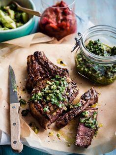 BBQ Ribeye Steak
