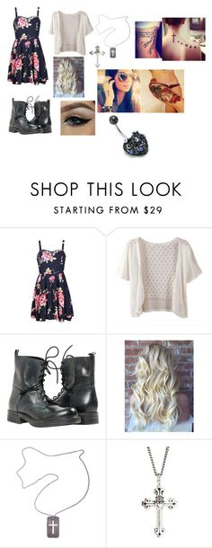 """""""Untitled #856"""" by samantha-myers-2 ❤ liked on Polyvore featuring Ally Fashion, WithChic, Christian Dior, King Baby Studio, women's clothing, women, female, woman, misses and juniors"""