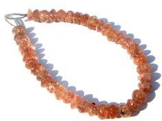 Sunstone Smooth Roundel Semi Precious Gemstone by beadsogemstone, $19.35