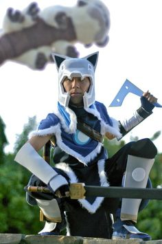 sokka boomerang cosplay avatar aang