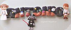 Coco & Canela: Nombre personalizado Star Wars
