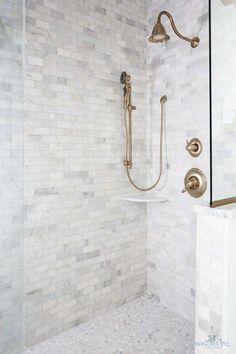 Stunning Bathroom Shower Tile Design Ideas For 2019 - Small Bathroom With Shower, Modern Bathroom Tile, Master Bathroom, Rental Bathroom, Bathroom Showers, Parisian Bathroom, Pool Bathroom, Beige Bathroom, Master Baths