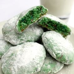 Shamrock Drop Cookies for St. Patrick's Day