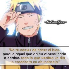 No te canses de hacer el bien #ShuOumaGcrow #Anime #Frases_anime #frases