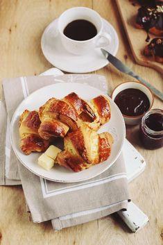croissante-rapide Croissant, Eat Dessert First, Pretzel Bites, French Toast, Bread, Coffee, Cooking, Breakfast, Desserts