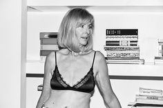 Take a first look at Anine Bing's latest lingerie campaign featuring women of all ages, and shop the pieces for yourself. Anine Bing, Pinterest Photos, Lingerie Collection, Beautiful Lingerie, Bra Lingerie, Who What Wear, Female Bodies, Campaign, Women Wear