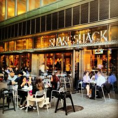 American Burger & Shake Royalty. Make sure you stop into the 'Shake Shack' in NYC!