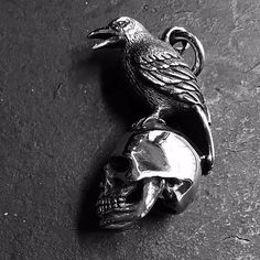 3ff67bd40b3669 Introducing our newest design: the 'Nevermore' pendant. Inspired by the  infamous Edgar