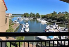 Harbourside III - 7332 - Shelter Cove Harbour & Marina Vacation Rental - VRBO...a part of Palmetto Dunes Oceanfront Resort on Hilton Head Island, SC - VRBO Vacation Resorts, Vacation Rentals, Hilton Head Condos, Palmetto Dunes, Harbor View, Fishing Charters, Hilton Head Island, Stay The Night, Private Pool