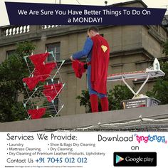 Spare yourself the trouble!  Let us help you in the #laundry #drycleaning #washing #ironing your clothes in #Mumbai  Visit: http://www.tingtongg.com/ Call:  +91 7045 012 012 #APP: http://bit.ly/2kBOMkw