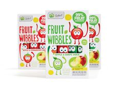 Woolworths Select Fruit Wibbles on Packaging of the World - Creative Package Design Gallery