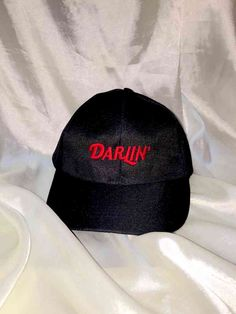 DARLIN' 100% Polyester Adjustable velcro One size only