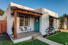 Wood exterior trim | Spanish Bungalow in Ventura California