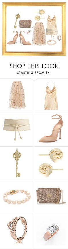 GLINDA THE GOOD WITCH IN 2017 ENCHANTRESS by michelle-woodworth-webb on Polyvore featuring Yves Saint Laurent, Valentino, Gianvito Rossi, Jimmy Choo, Pandora, ASOS, Forever 21 and Lord & Taylor