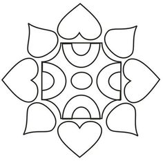 Image result for rangoli designs for kids