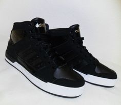 Gold Trainers, 5 To 7, Black High Tops, Black Gold, High Top Sneakers, Adidas, Best Deals, Ebay, Shoes