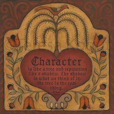 Character 12x12 print on wood by Teresa Kogut., via Etsy.