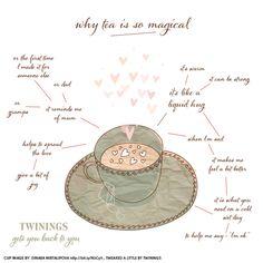 why tea is so magical!