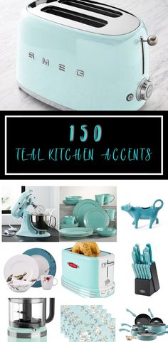 accents on a budget Does the color teal invoke feelings of excitement for you If so, you will want .,home accents on a budget Does the color teal invoke feelings of excitement for you If so, you will want . Teal Kitchen Decor, Turquoise Kitchen, Kitchen Colors, Kitchen Layout, Kitchen Design, Kitchen Ideas, Kitchen Retro, Kitchen Grey, Kitchen Stuff