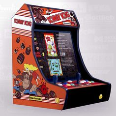 Donkey Kong, Pinball, Game Room Decor, Game Rooms, Drum Wrap, Arcade Bartop, Arcade Stick, Electrical Projects, Garage Bar