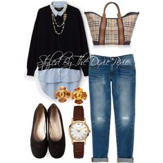 Classic style. Women's fashion. Fashion for women over 40. Fashion stylist. Burberry. Chanel. Cartier. Ballet flats. Boyfriend jeans. Sweater outfits.