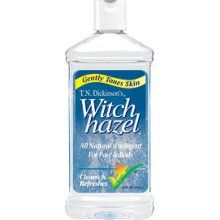 Big pores? No problem. After a cleansed face wipe over with witch hazel. Helps minimize pores