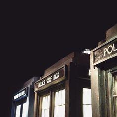 The Doctor in the TARDIS. Next stop: e v e r y w h e r e.