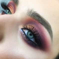 Full of color Eye makeup, just a little closer.. — #tominamakeup#colormakeup#eyemakeup#blueeyes#lifeincolor#blending #makeuptutorial