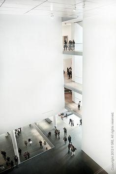 Architecture Du Japon, Japanese Architecture, Interior Architecture, Interior Rendering, Interior Design, Atrium, Museum, Indoor, Building