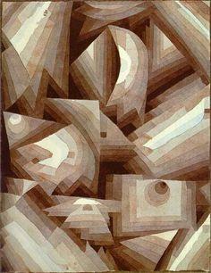 Klee, Paul - Crystal Gradation - Blaue Reiter