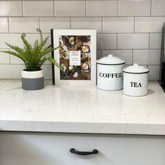 Which one are you? ... A tea person or a coffee person?  . . #stagingvignette #kitchendecor #kitchencounterdecor #whitekitchen #coffeeortea #goodmorning #coffeetime #teatime #staginghomes #homestaging #kitchenaccessories #homestagingextraordinaire #stagingcypresstx #staginghouston #houstonhomestager #houstontx #homedecor Home Staging Companies, Kitchen Accessories, Repurposed, Kitchen Decor, Tea, Interior Design, Coffee, Simple, Home Decor