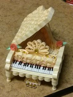 Quilling Paper Piano                                                                                                                                                     More