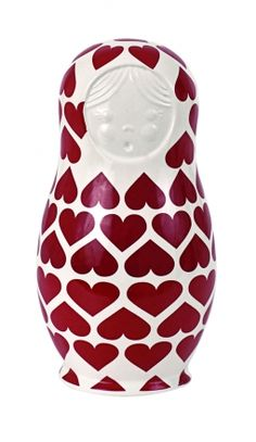 S Babushka Doll Red Hearts <3 <3 <3