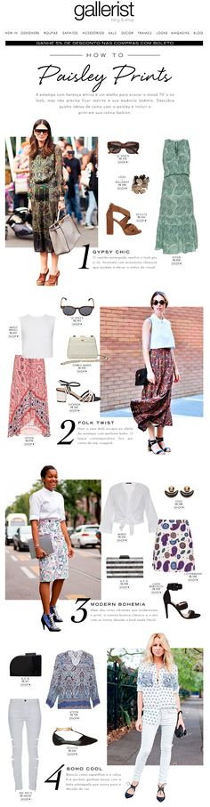 newsletter, fashion, layout, gallerist blog & shop, paisley, tendência, estampa, 70´s, anos setenta, seventies, trend, how to, street style