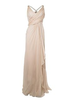 www.onewedding.co.uk Colour: Pink Style: Sale, Column, Vintage Dress Neckline: V-Neck RRP: £312.00 Designer: Anoushka G
