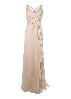 Grecian draped wedding dresses - Anoushka G - Paula Grecian drape skirt