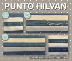 Just one stitch …: We start sewing: Hilvan Point. Step by step tutorial to make this temporary hand sewing point. Modelista, Sewing Hacks, Embroidery Patterns, Hand Sewing, Patches, Stitch, Learning, Tips, Aprons