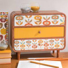 Boîte 3 tiroirs H 27 cm LUCETTE | Maisons du Monde