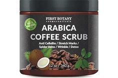 with Organic Coffee, Coconut and Shea Butter - Best Acne, Anti Cellulite and Stretch Mark treatment, Spider Vein Therapy for Varicose Veins & Eczema Coffee Cellulite Scrub, Coffee Face Scrub, Coconut Oil Body Scrub, Salt Body Scrub, Cellulite Remedies, Anti Cellulite, Reduce Cellulite, Stretch Mark Treatment, Lip Scrub Homemade