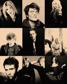 HP CAST #Clemence #Posey #Daniel #Radcliffe #Evanna #Lynch #Rupert #Grint #Tom #Felton #Emma #Watson #Matthew #Lewis #Oliver #James #Phelps #Bonnie #Wright
