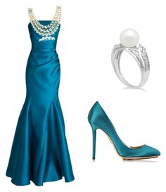 """""""Untitled #8"""" by tara-hastur on Polyvore featuring Badgley Mischka, Charlotte Olympia and Bling Jewelry"""