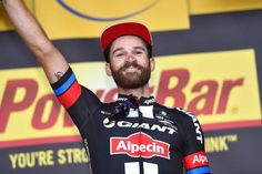 Simon Geschke (Giant-Alpecin) takes Stage 17 in Pra Loup, Andrew Talansky 2nd and Rigoberto Uran 3rd.