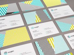 Business Card linework