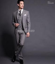 Wholesale men suit /men suits/ mens complete designer tuxedo/Bridegroom suit/wedding wear/party wearhand-made, $156.8-162.4/Piece | DHgate