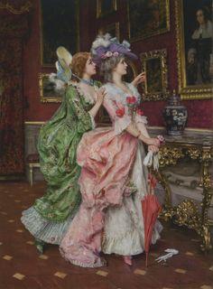 Federico Andreotti - All'esposizione, 1880                                                                                                                                                                                 Mais