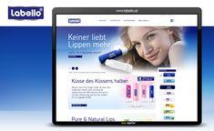 Betreuung von Website- und Online-Marketing. Marketing, Lips