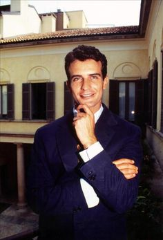 old pic of Luciano Benetton